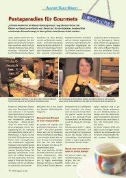 Pastaparadies für Gourmets