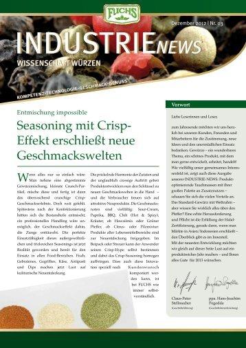 Dezember 2012   Nr. 03 - fuchsspice.com
