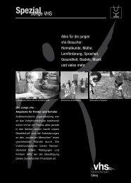 Junge VHS - Volkshochschule Coburg