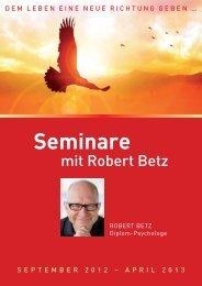 Seminare - Robert Betz