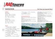 Radreise Haveltour - Radtouren Magazin