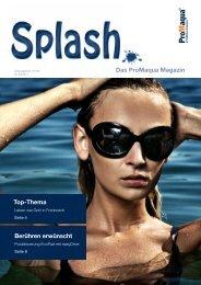 Splash - das ProMaqua Schwimmbadmagazin 2-2011 - ProMinent