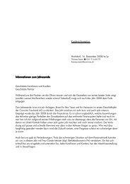 Informationen zum Jahresende 1. für Homepage - Convicta ...