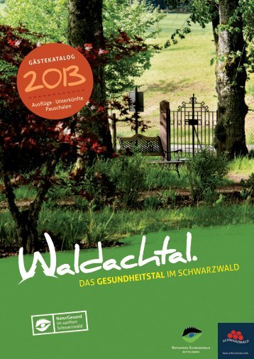 Download Gästekatalog 2013 (pdf) - Waldachtal