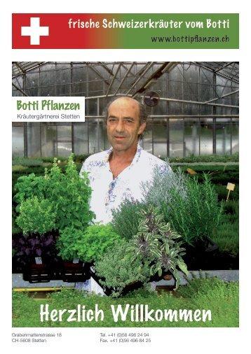 Botti Pflanzen - niamniam.ch