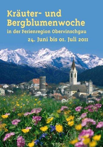 Kräuter- und Bergblumenwoche - Alpine Fitness