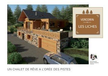 Plaquette de vente du Chalet le Hameau des - Constantin ...