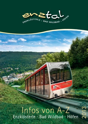 Enztal A - Z 2013 (8 MB) - Bad Wildbad