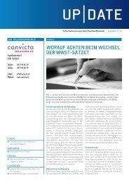 HöHERE BVG- Grenzwerte Sowie ALV ... - Convicta Treuhand AG