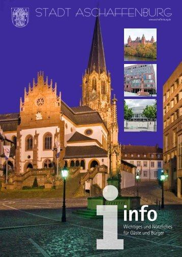 Infobroschüre (PDF, 16 MB) - Stadt Aschaffenburg