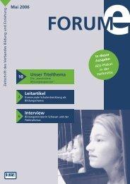 Mai 2006 Unser Titelthema 10 Leitartikel Interview - VBE Verband ...