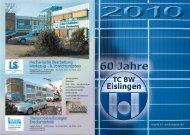 Vereinszeitschrift 2010 - TC Eislingen