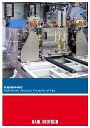 ECHOGRAPH-HRP.S High-Speed Ultrasonic  ... - Karl Deutsch