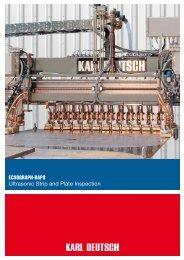 ECHOGRAPH-BAPS Ultrasonic Strip and Plate ... - Karl Deutsch