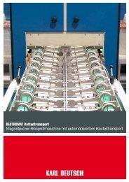 DEUTROMAT Kettentransport Magnetpulver ... - Karl Deutsch