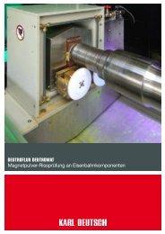 DEUTROFLUX DEUTROMAT Magnetpulver ... - Karl Deutsch