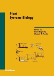 Plant Systems Biology