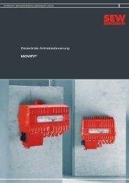 MOVIDRIVE® Antriebsumrichter Dezentrale ... - SEW-Eurodrive