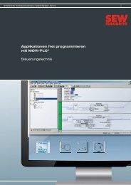 Applikationen frei programmieren mit MOVI-PLC ... - SEW-Eurodrive