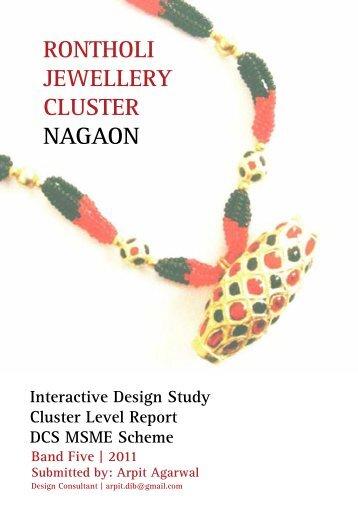 rontholi jewellery cluster nagaon - Designclinicsmsme.org