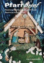 Pfarrbrief Weihnachten 2010.pdf - St. Nikolaus Büren