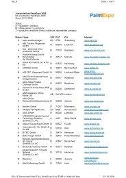 Seite 1 von 9 list_d 03.10.2006 file://J:\Internetauftritte ...