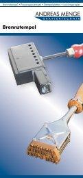 Brennstempel • Propangasstempel • Stempelplatten • Leistungsregler
