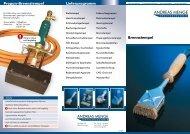 Brennstempel Lieferprogramm Propan-Brennstempel