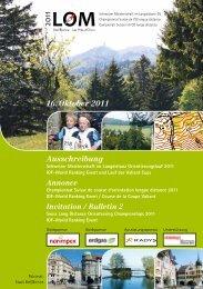 Ausschreibung (PDF, komplett) - LOM 2011