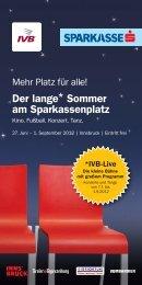 Der lange* Sommer am Sparkassenplatz - triebwerk.at