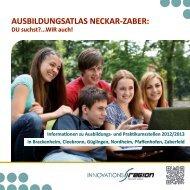Ausbildungsatlas Neckar-Zaber PDF - Wirtschaftsförderung Raum ...