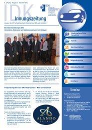 IDK - Zeitung Dezember 2012 - Innung des Kfz-Handwerks Hannover