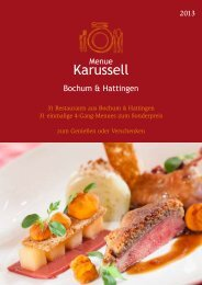 Bochum & Hattingen - Menue Karussell