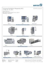 Maschinen für Draht und Rohr - SEQUEM