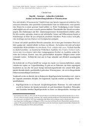 Claudia Fraas Begriffe – Konzepte – kulturelles Gedächtnis Ansätze ...