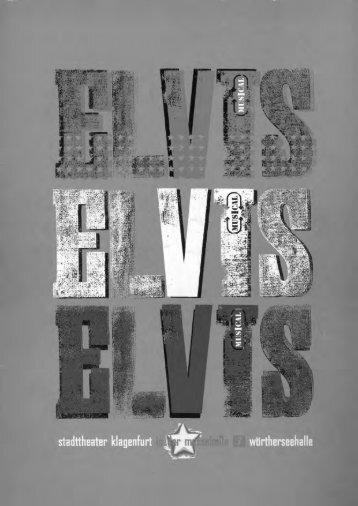 programmheft - elvis, a musical biography (version 2) - fanclub