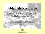 Projekt Abfall als Ressource - IHK Karlsruhe