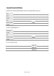Tagespflegevertrag (PDF, 113 KB) - Karlsruhe