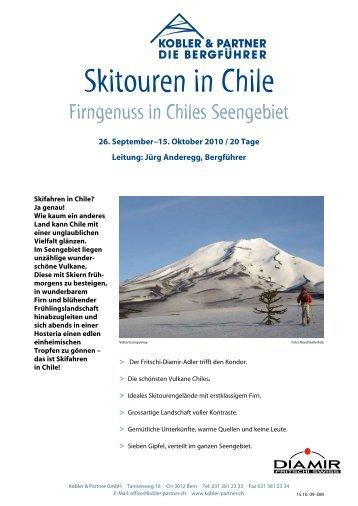 Skitouren in Chile - Diamir