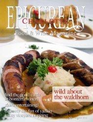 July/August 2012 - Epicurean Charlotte Food & Wine Magazine - Blog