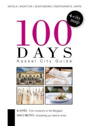 Kassel 100 Days City Guide - In Your Pocket GmbH