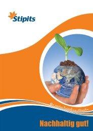 unseren Nachhaltigkeitsbericht als .pdf herunterladen - Stipits