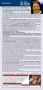 Programm 2011 - und Begegnungszentrum Abtei Waldsassen - Seite 2
