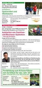 Programm 2011 - und Begegnungszentrum Abtei Waldsassen - Seite 5