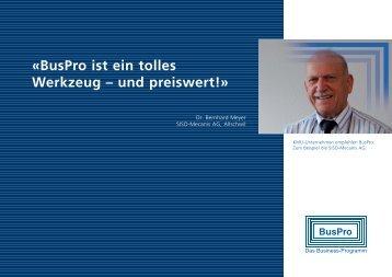 «BusPro ist ein tolles Werkzeug – und preiswert!» - BusPro AG