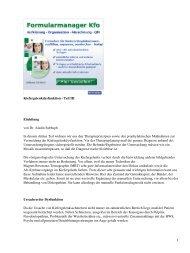 Kiefergelenkdysfunktion - Teil III Einleitung von Dr. Aladin ... - Spitta