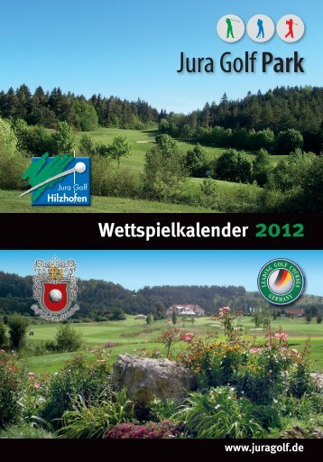 Wettspielkalender 2012.indd - Jura Golf Park