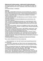 Elektronische Funktionsanalyse - Prof. Dr. Olaf Winzen