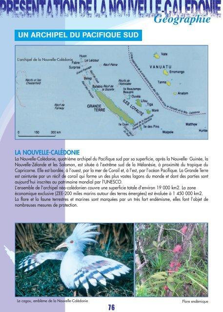 LA2013 - Présentation de la Nouvelle-Calédonie (PDF