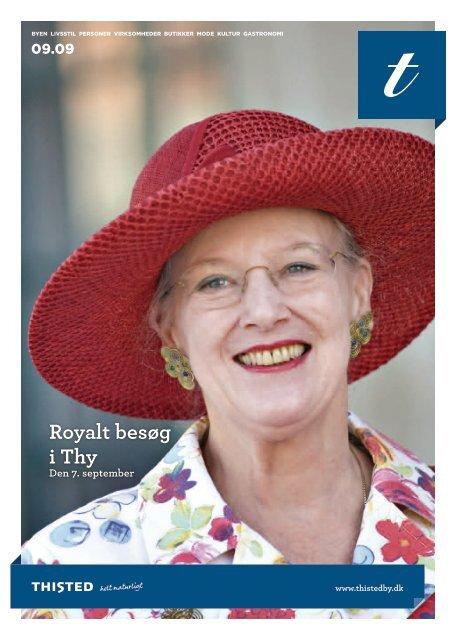 Royalt besøg i Thy Den 7. september - Jeanette Lund Kommunikation